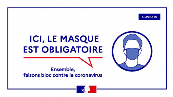 Obligation du port du masque de protection